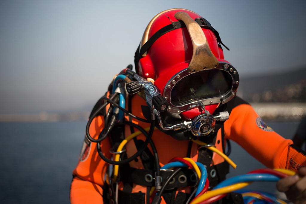 I sommozzatori dei Vigili del Fuoco ci raccontano il loro lavoro (MOMENTANEAMENTE SOSPESO)