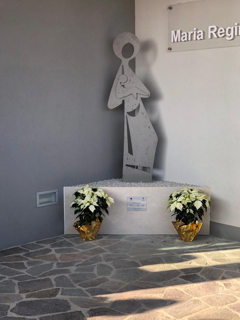 Una statua in ricordo di Don Marcello