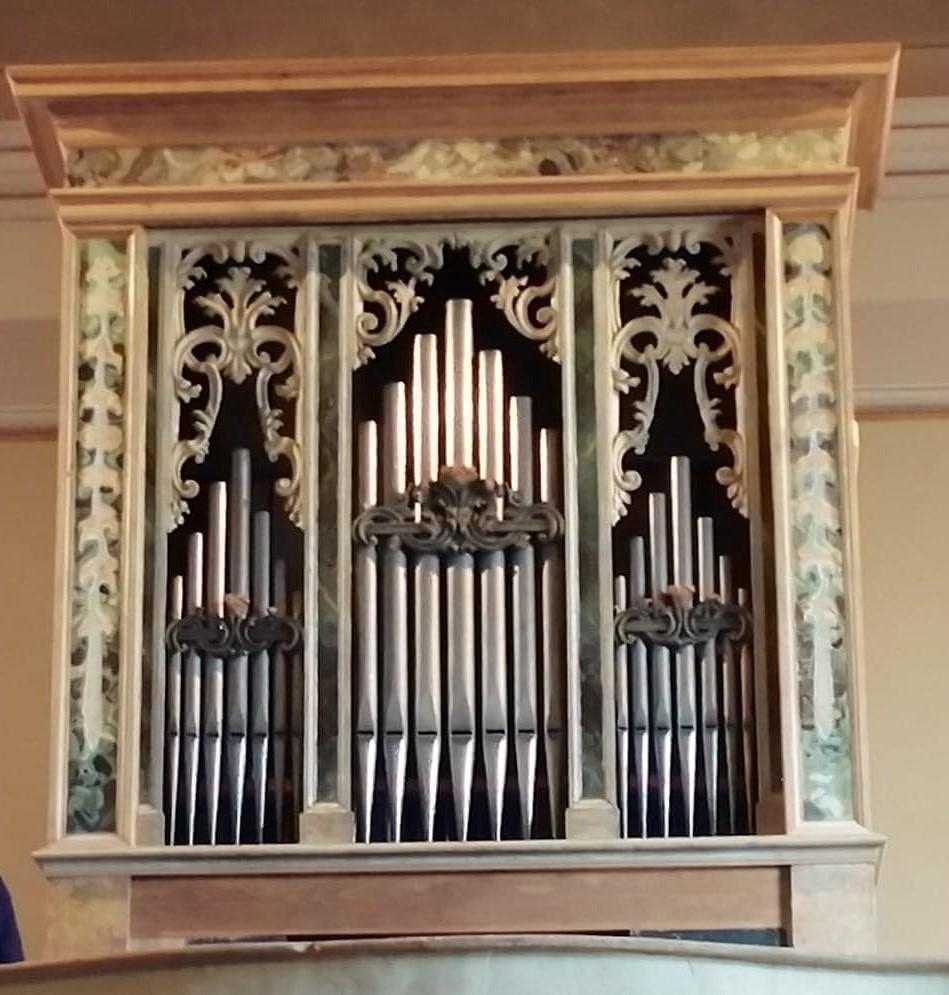 Il service per il restauro all'organo di Burana